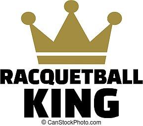 rey, corona,  Racquetball