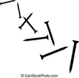 Flying screws