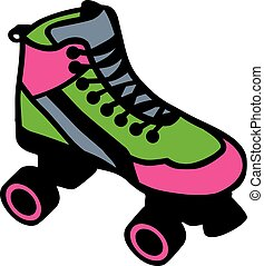 Rollerblades colored