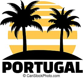 Portugal with palms