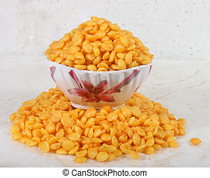 Rice Puff & Fryums Snack in Pulse Shape image