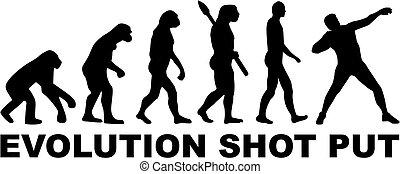 Evolution Shot put