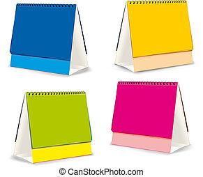 blanks for Desktop calendars