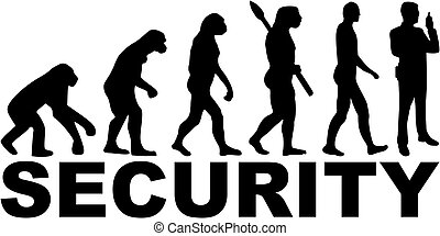 Security guard evolution with job title
