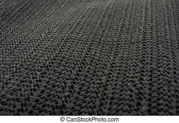 Silicon mat background - Black non slip Silicon or rubber...
