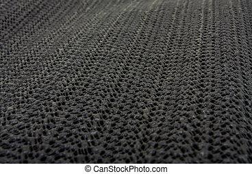 Silicon mat background - Black non slip Silicon or rubber...