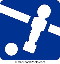 Table Football Pictogram