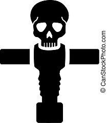 Table Football Skull