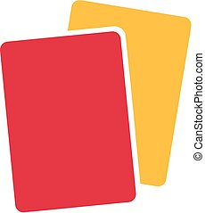 Referee Yellow Red Card