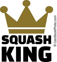 Squash king crown