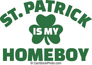 St. Patrick's Day is my homeboy