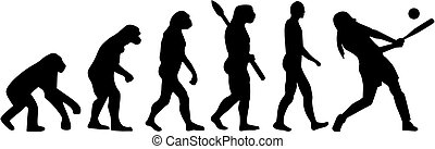 Softball evolution batter