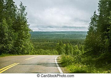 Via Karelia road in Finland