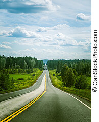 Via Karelia road in Finland