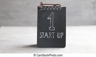 Startup Business concept tag with text - Startup Business,...