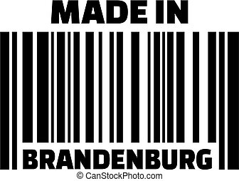 Made in Brandenburg barcode