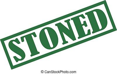 Stoned stamp