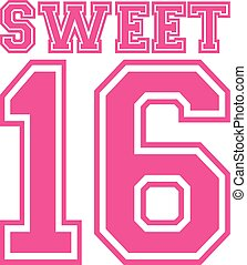 Sweet sixteen 16 college style