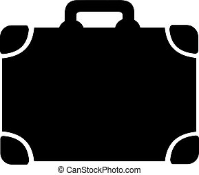 Suitcase baggage icon