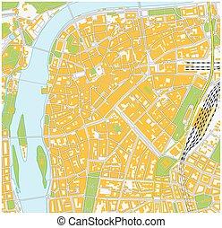 praha city map