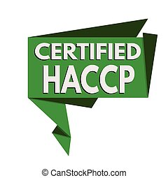 HACCP (Hazard Analysis Critical Control Points) origami...
