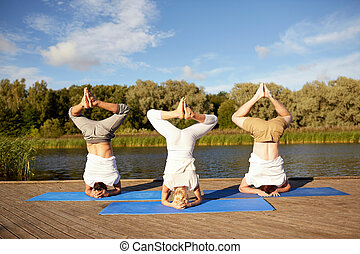 woman headstand stock photo images 353 woman headstand