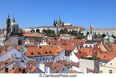 Saint Vitus Cathedral in Prague Czech Republic Eastern...