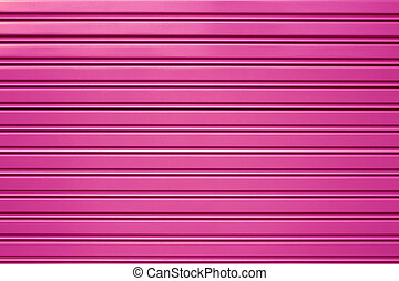 purple metal security roller door background