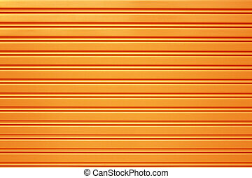 yellow metal security roller door background