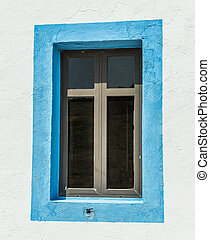 Window of Prophet Elias Church, Greece - Window of Old...