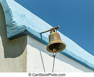 Bell of Prophet Elias Church, Greece - Bell of Old Prophet...