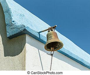 Bell of Prophet Elias Church, Greece - Bell of Old Prophet...