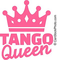 Tango queen with crown