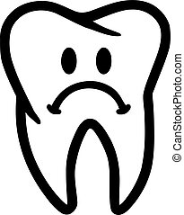 Sad tooth - toothhache