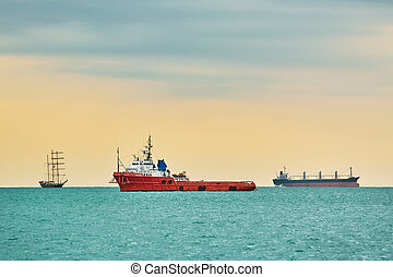 Anchor Handling Vessel in the Black Sea