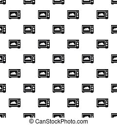 Microwave oven pattern, simple style - Microwave oven...