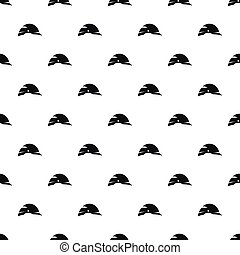 Construction helmet pattern, simple style - Construction...