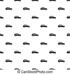 London black cab pattern, simple style