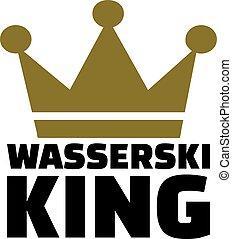Water skiing king german