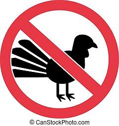 Turkeys forbidden