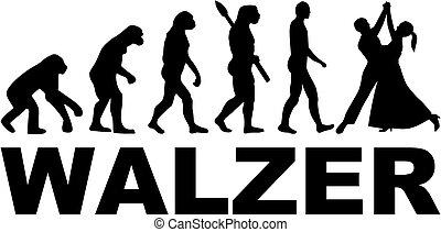 Waltz evolution. German.