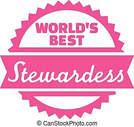 World's best stewardess