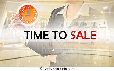 Time to sale, Business concept.
