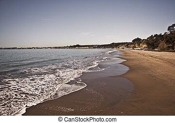 Santa Cruz Coastline - View of Santa Cruz Coastline
