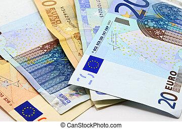 Euros  - euros isolated