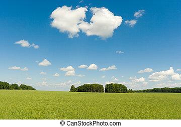 landscape sky blue