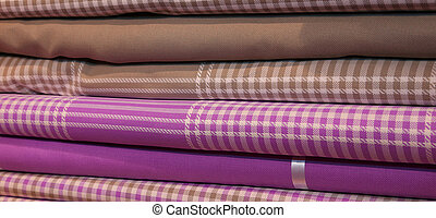 variety of fabrics for sale of haberdashery - variety of...