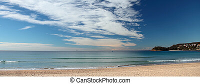 Manly Beach Sydney Australien - Blick auf Manly Beach....