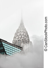 Vapor from street underground in NYC - NEW YORK, USA - May...