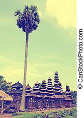 Taman Ayun Temple (Bali, Indonesia) - Palm and Taman Ayun...